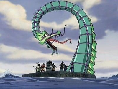 Avatar - Der Herr der Elemente Season 2 :Episode 12  Der Schlangenpass