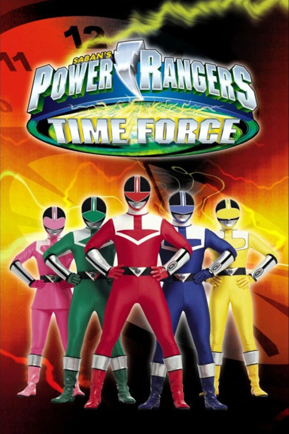 Power Rangers Time Force - Quantum Ranger: Clash for Control (2001)