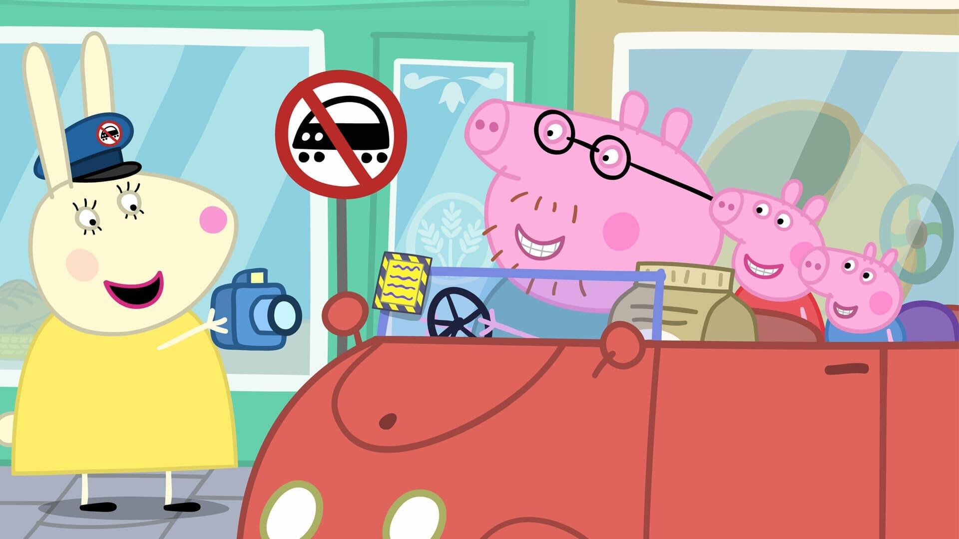 Peppa Pig Season 6 :Episode 6  Parking Ticket