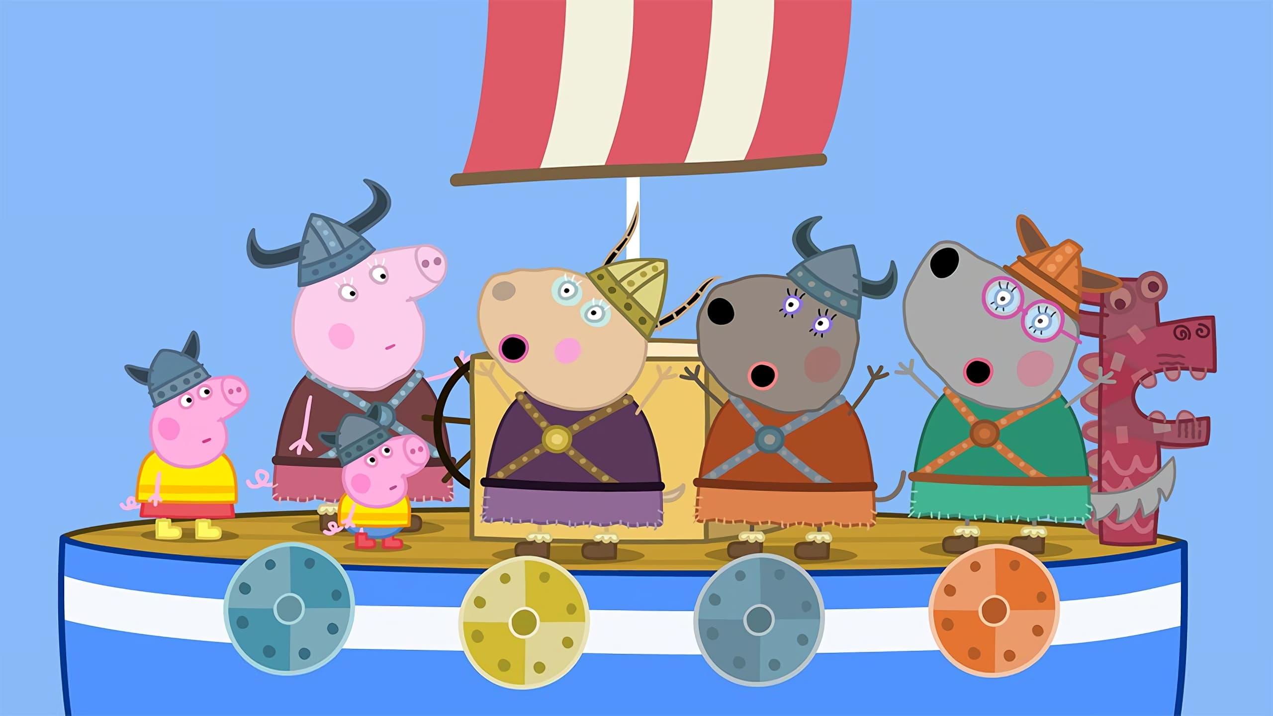 Peppa Pig Season 6 :Episode 32  Viking Day