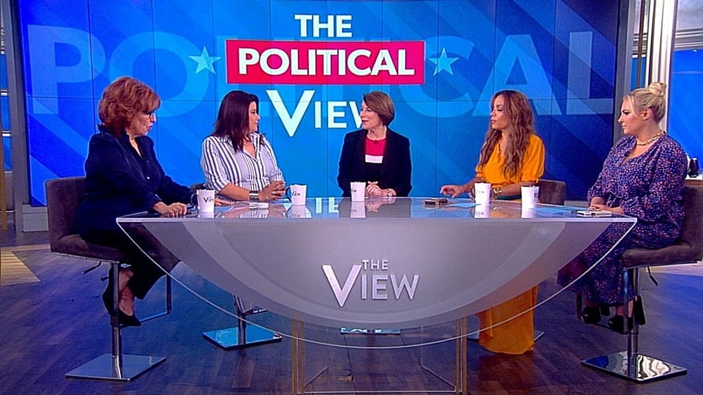 The View Season 22 :Episode 162  Amy Klobuchar