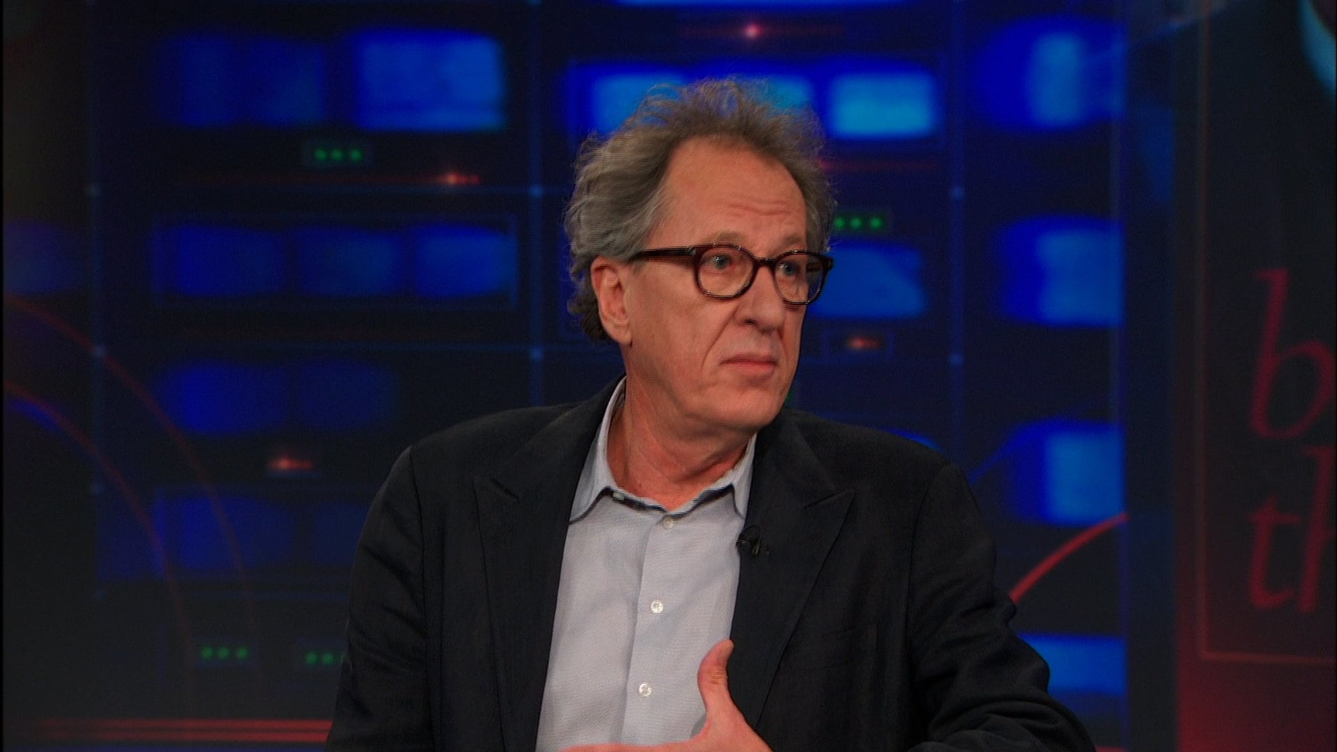 The Daily Show with Trevor Noah Season 19 :Episode 24  Geoffrey Rush