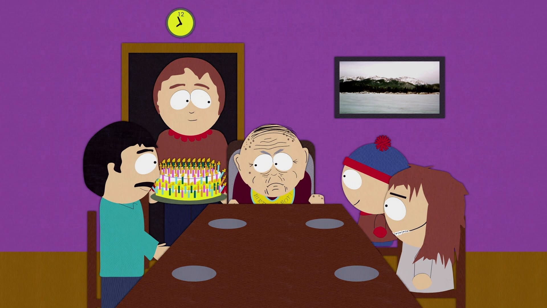 South Park Season 1 :Episode 6  Death