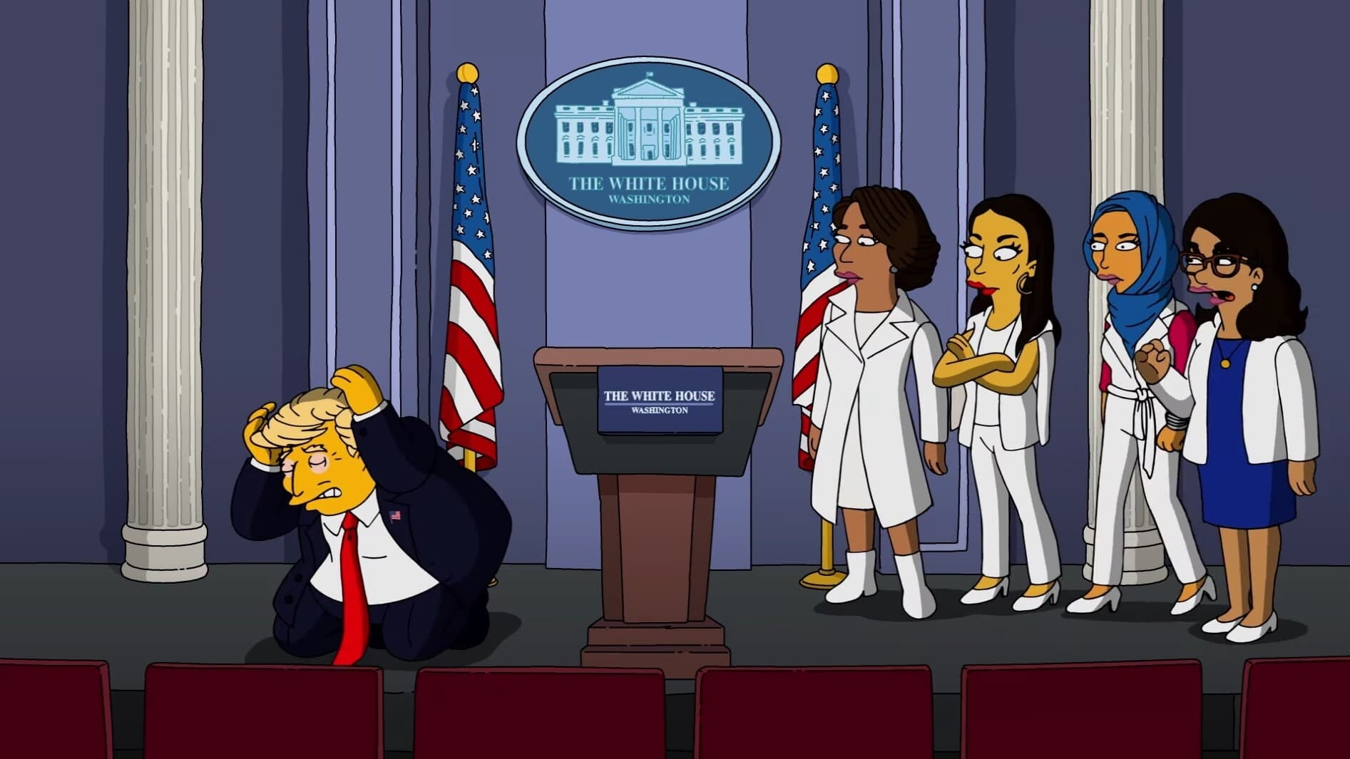 The Simpsons Season 0 :Episode 71  West Wing Story