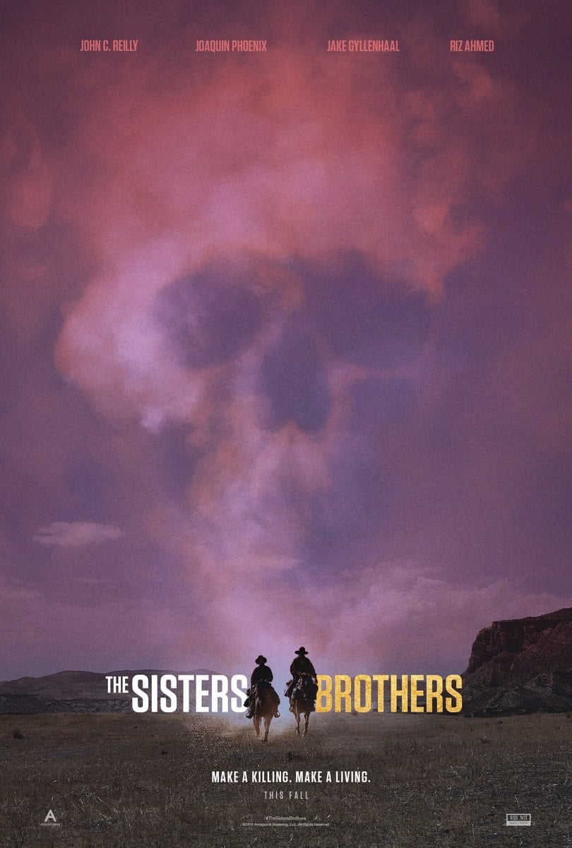 Poster and image movie Film The Sisters Brothers - The Sisters Brothers 2018