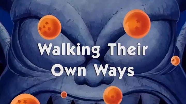 Dragon Ball Season 1 :Episode 131  Walking Their Own Ways