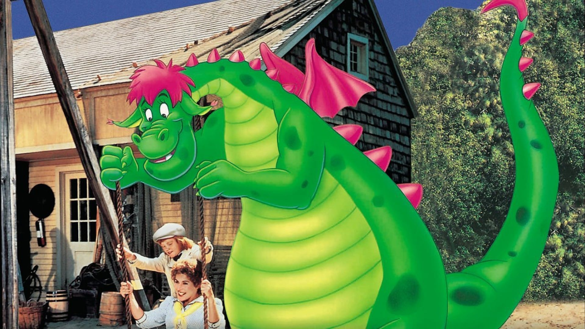 Peter et Elliott le dragon (1977)