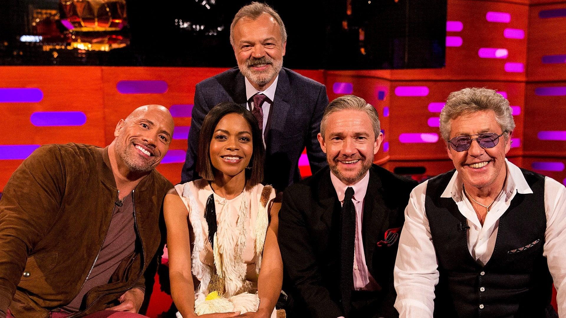 The Graham Norton Show Season 23 :Episode 2  Dwayne 'The Rock' Johnson, Naomie Harris, Martin Freeman, Roger Daltrey