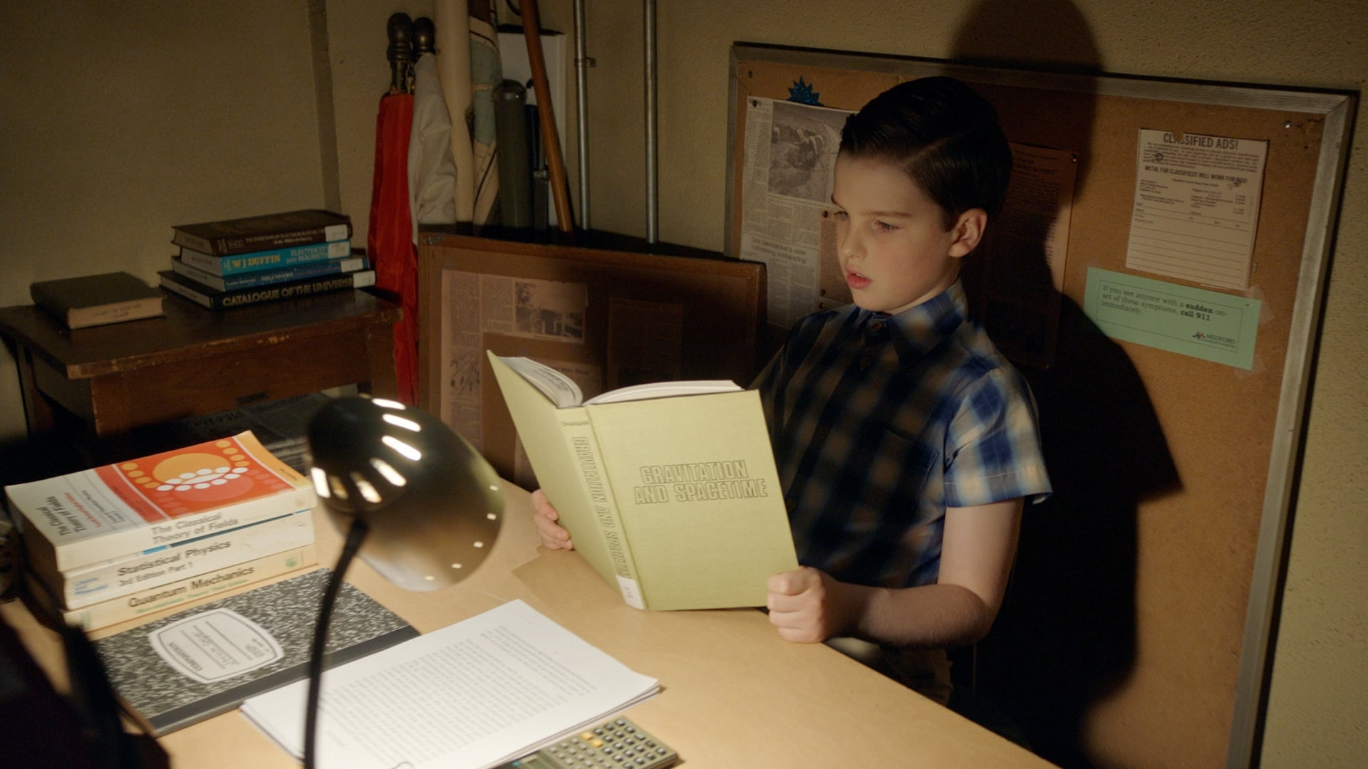 Young Sheldon - Season 3 Episode 2 : A Broom Closet and Satan's Monopoly Board