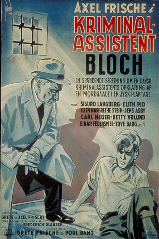Kriminalassistent Bloch (1943)
