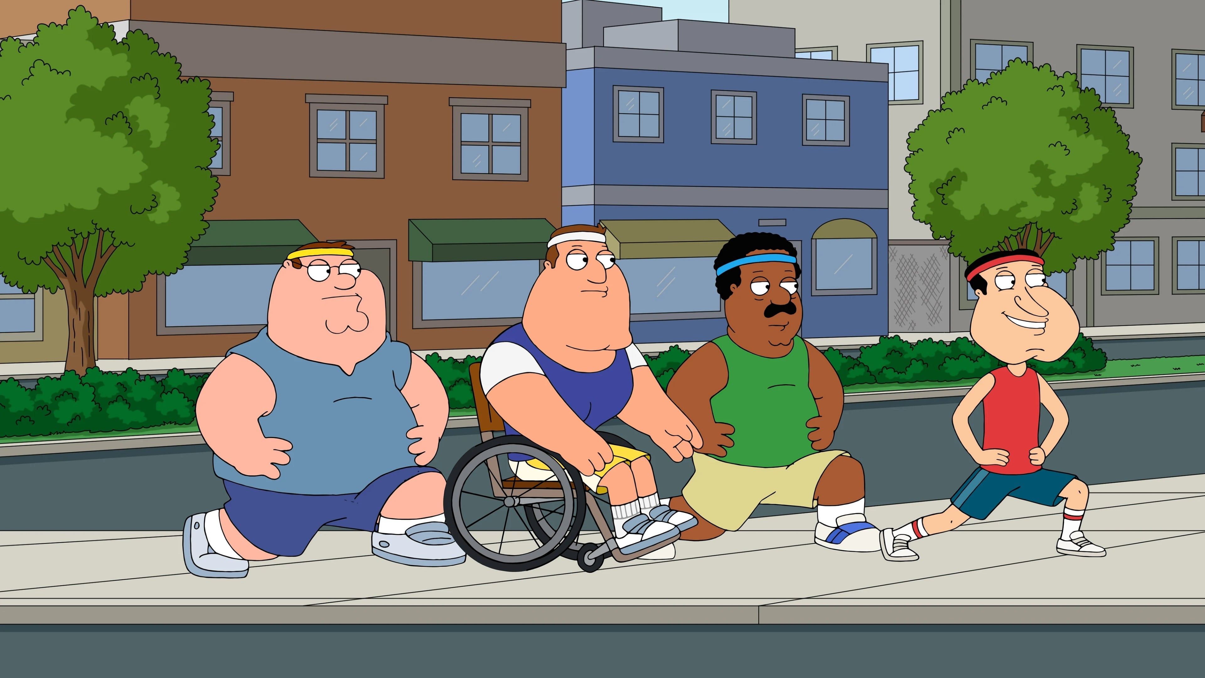 Family Guy Season 17 :Episode 14  Family Guy Lite