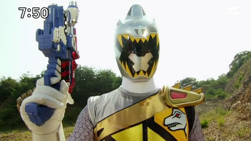 Super Sentai Season 37 :Episode 36  Brave 36:GIGAGABURINCHO! The Miraculous Silver