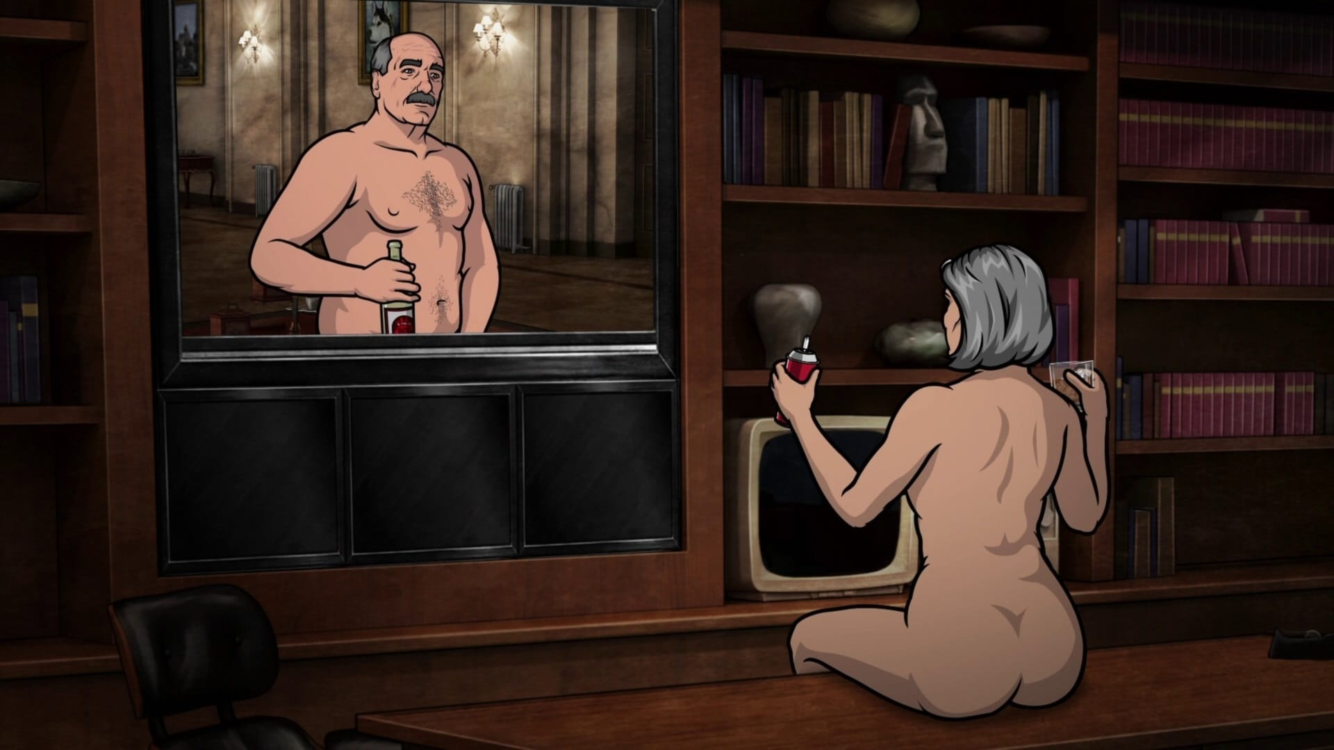 Archer Season 2 :Episode 12  White Nights