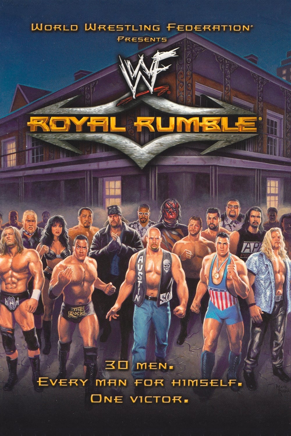 WWE Royal Rumble 2001 (2001) - Posters — The Movie Database (TMDb)