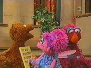 Sesame Street Season 38 :Episode 3  Word 'Dog' Escapes Abby's Book