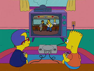 Die Simpsons Season 19 :Episode 6  Kleiner Waise Milhouse