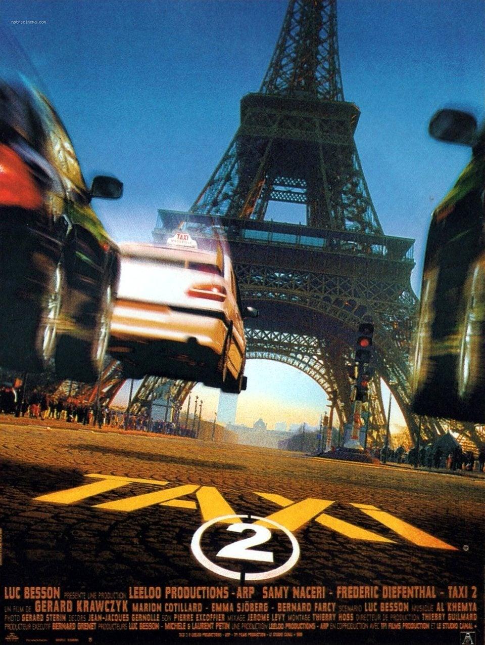 Voir Taxi 2 (2000) Français Streaming 1080p