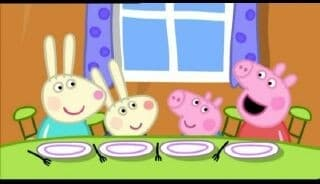 Peppa Pig Season 2 :Episode 43  Rebecca Rabbit