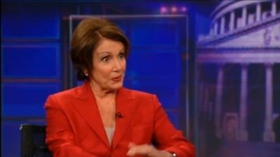 The Daily Show with Trevor Noah Season 17 :Episode 19  Nancy Pelosi