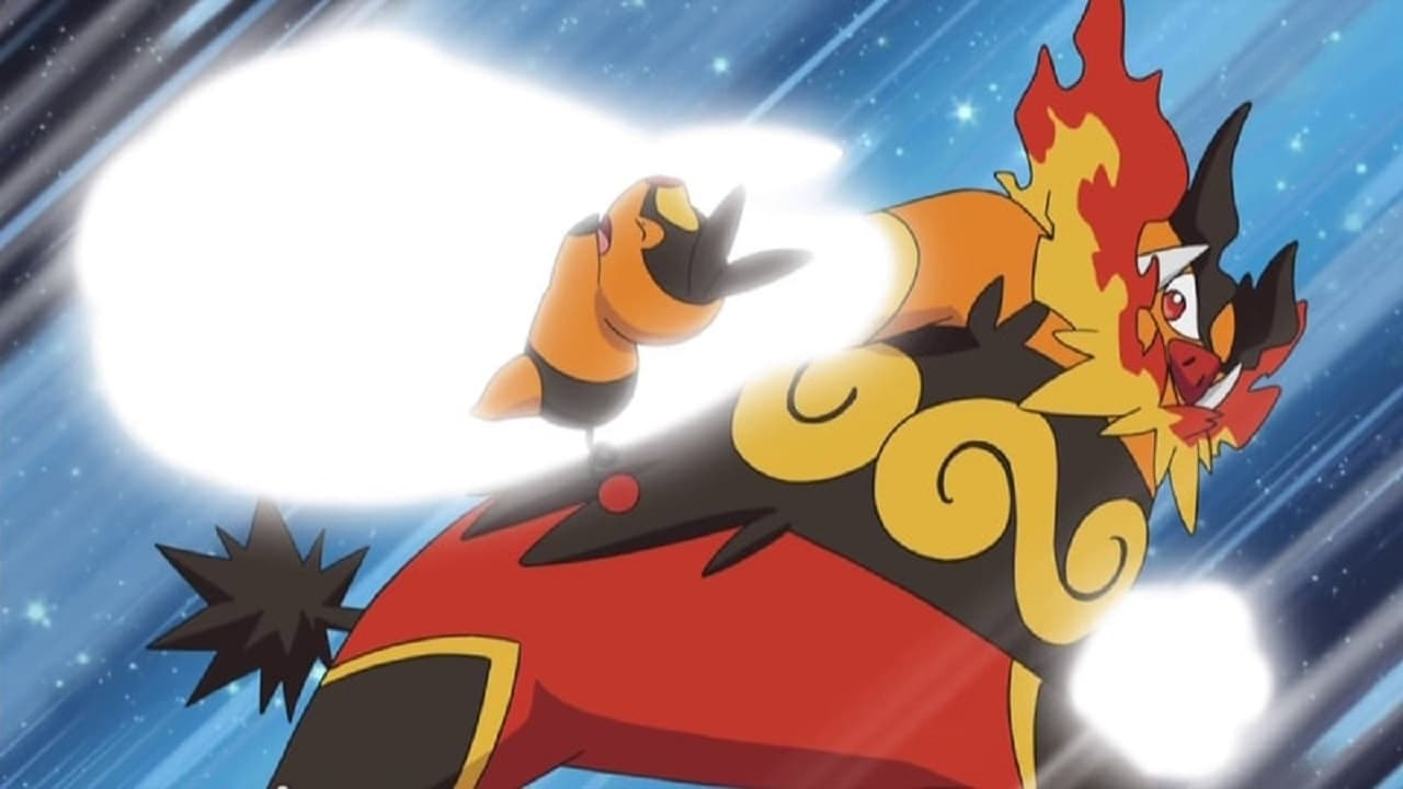 Pokémon Season 15 :Episode 29  Evolution by Fire!
