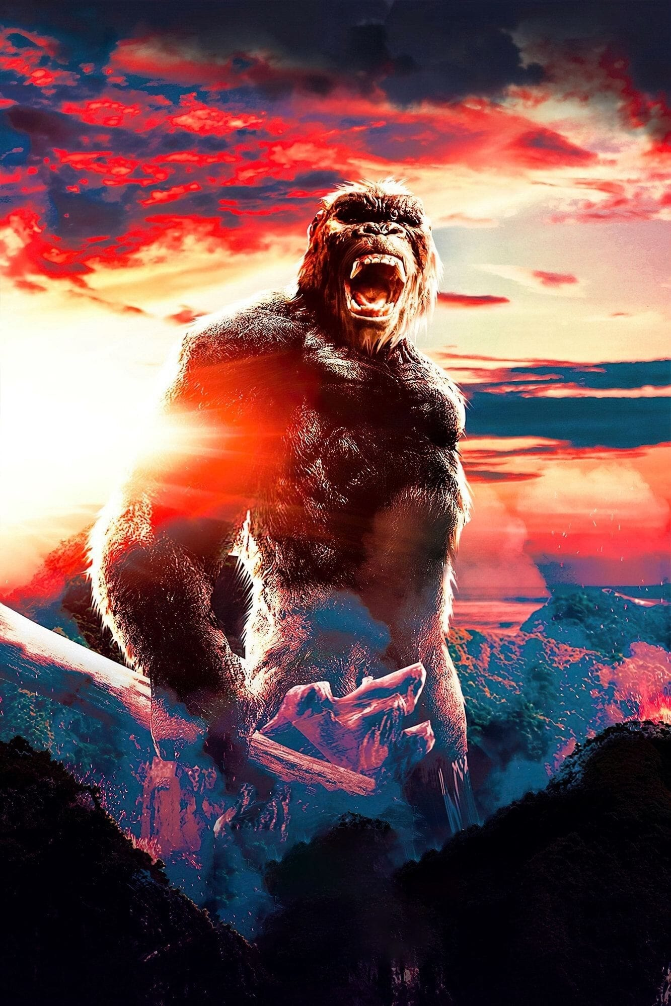 Poster and image movie Godzilla vs. Kong