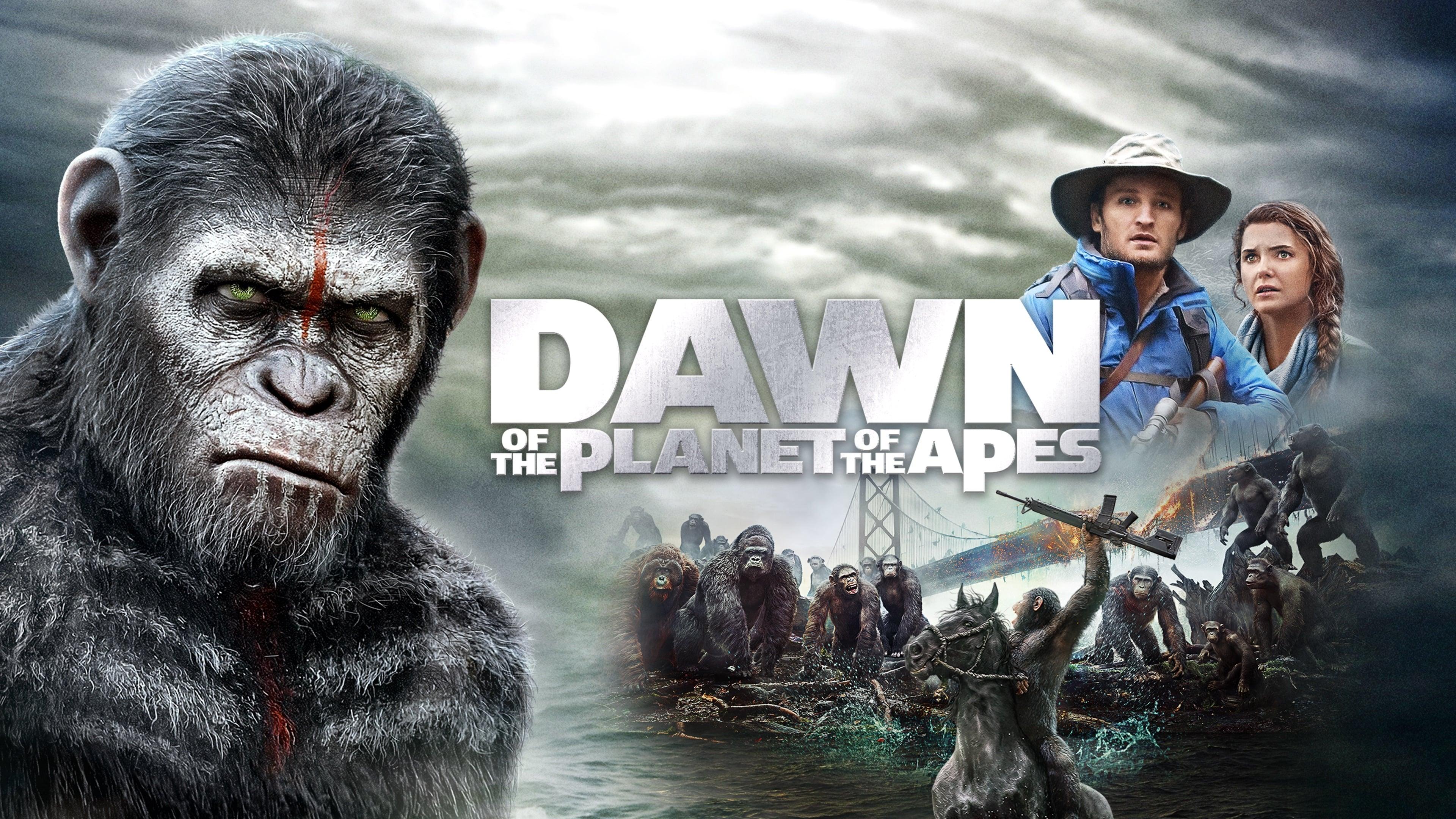 Зората на планетата на маймуните