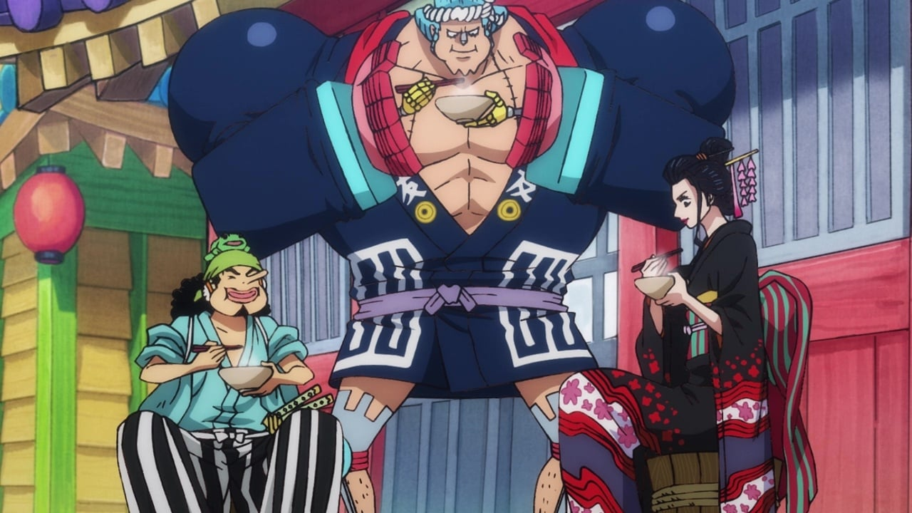 One Piece Season 21 :Episode 920  A Great Sensation! Sanji's Special Soba!