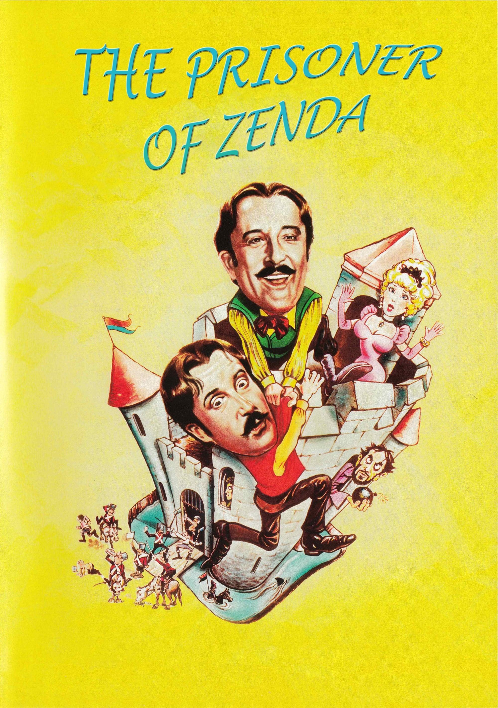 Ver El estrafalario prisionero de Zenda Online HD Español (1979)