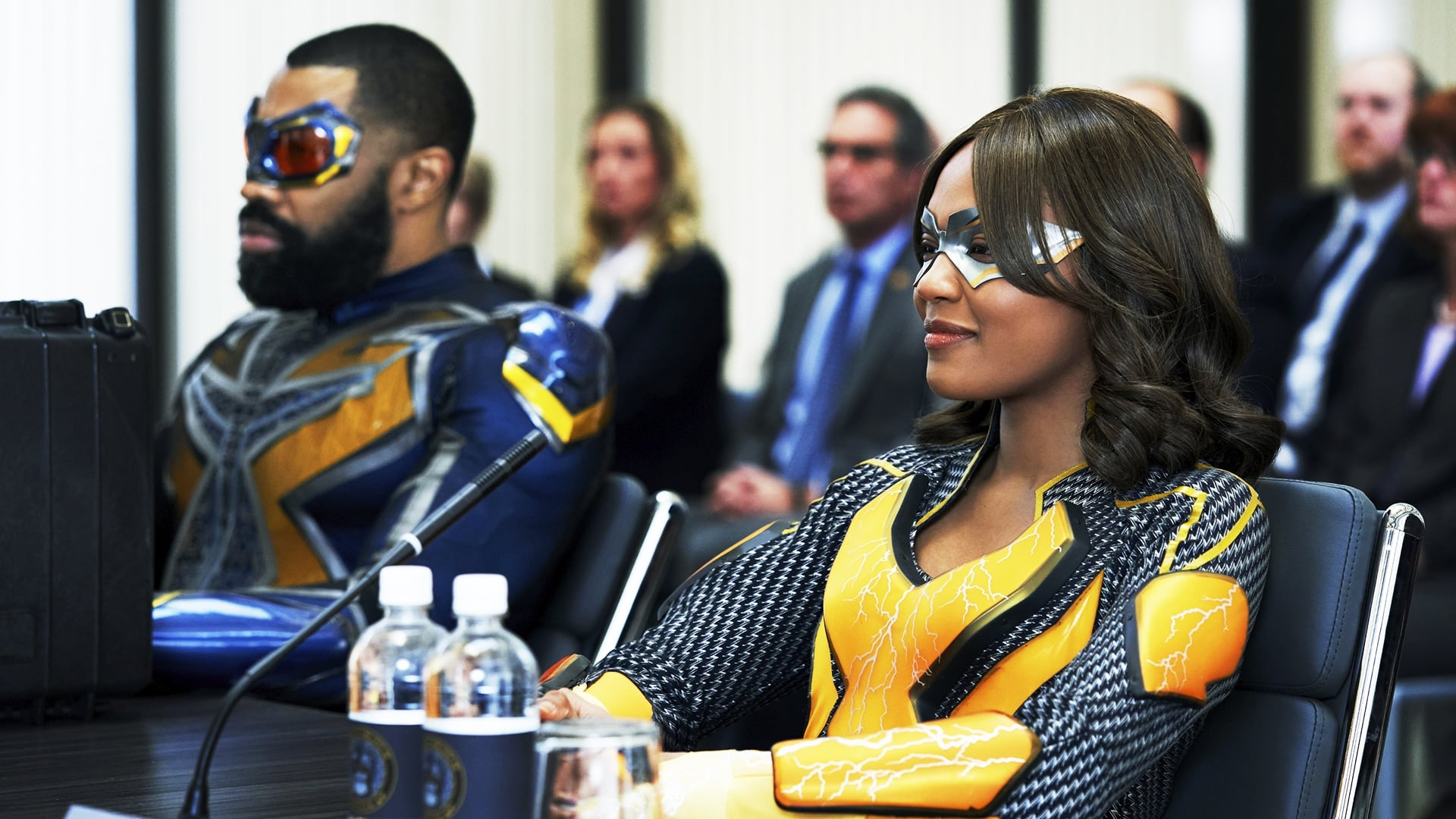 Black Lightning Season 3 :Episode 16  The Book of War: Chapter Three: Liberation