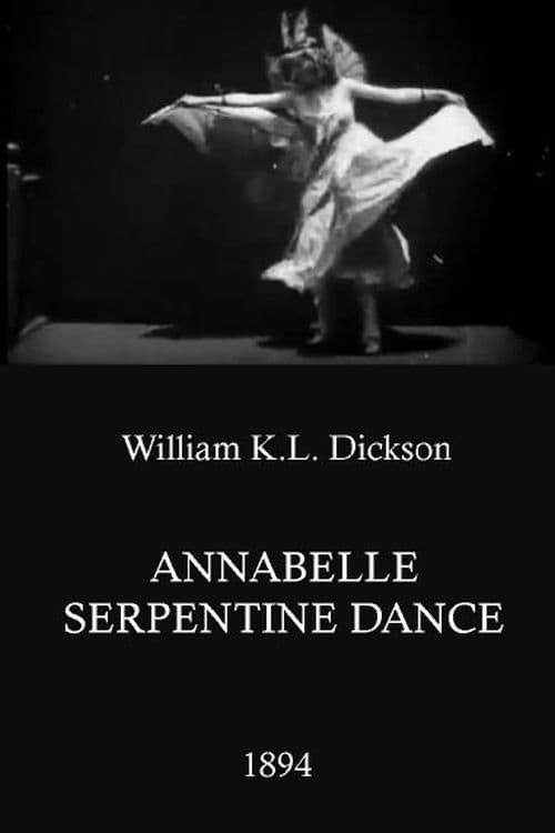 Serpentine Dance by Annabelle (1896)