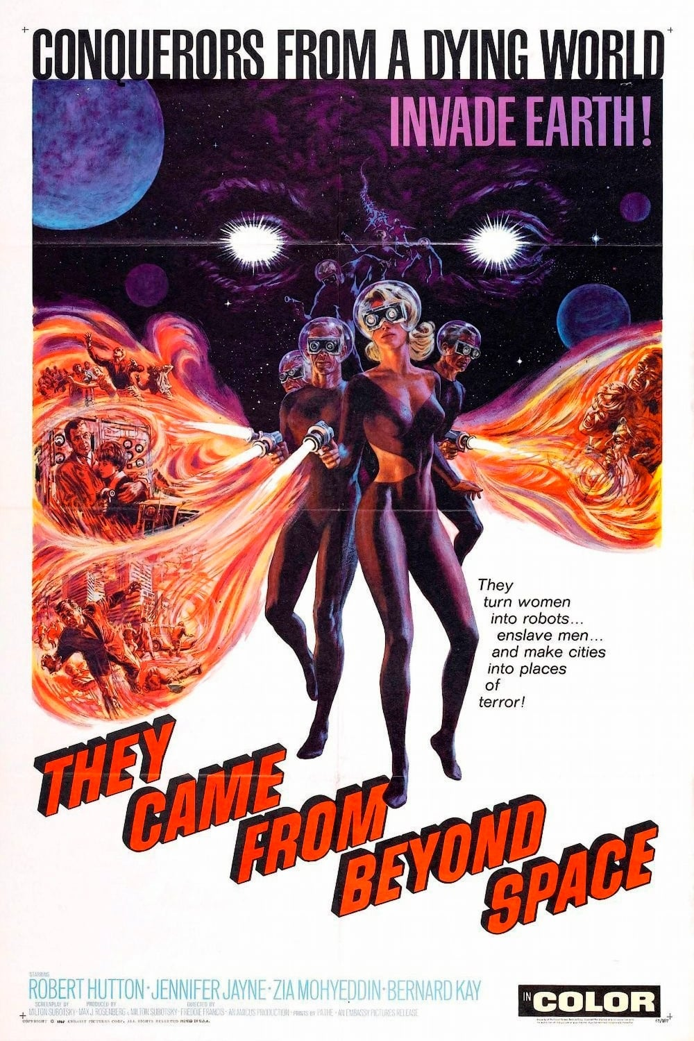 Watch They Came from Beyond Space Online