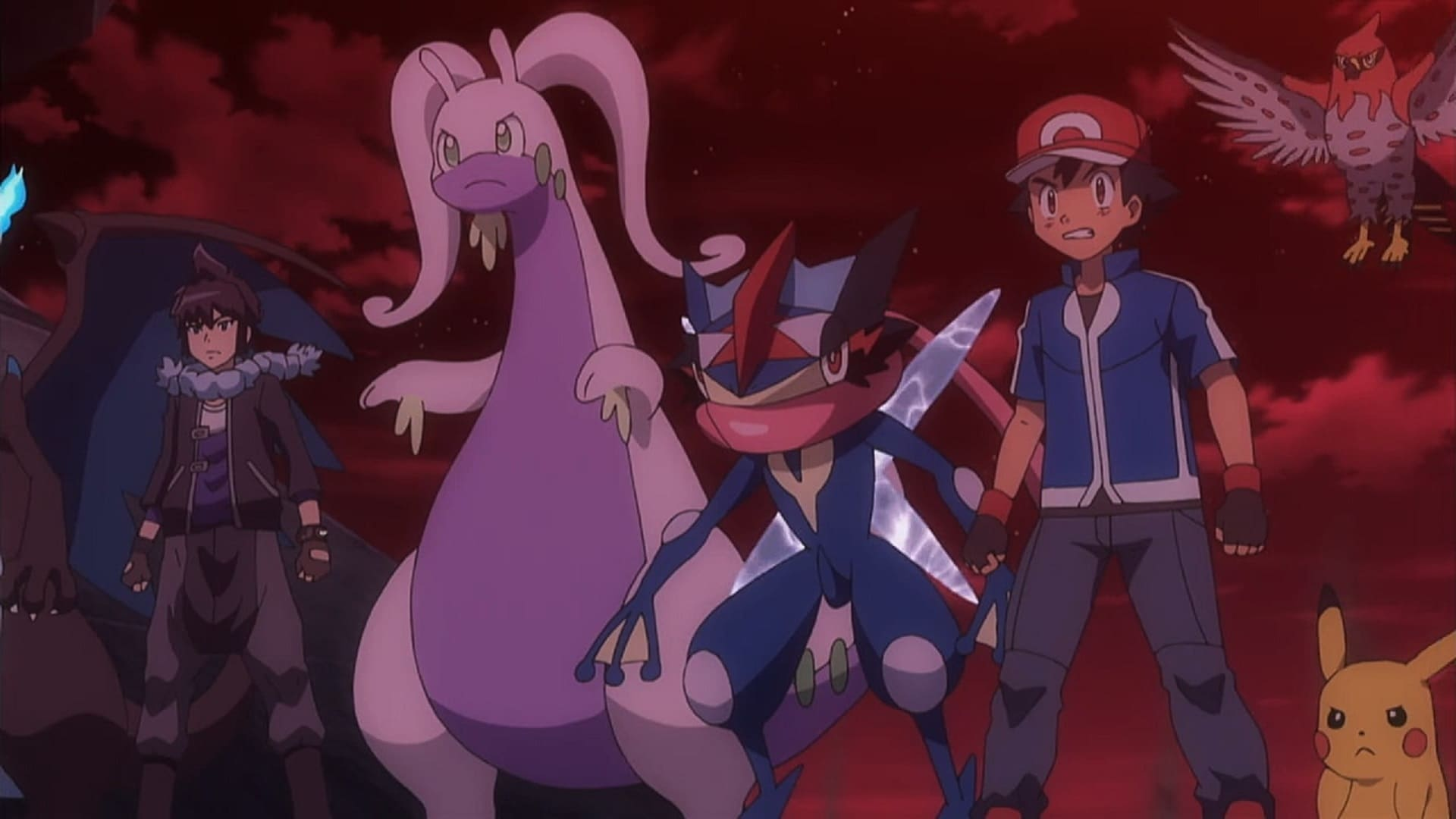 Pokémon Season 19 :Episode 41  The Right Hero for the Right Job!