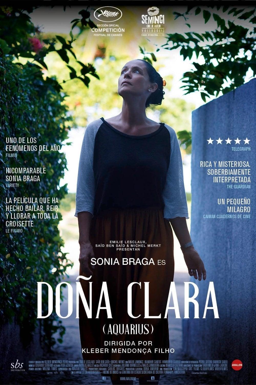 Póster Do�a Clara