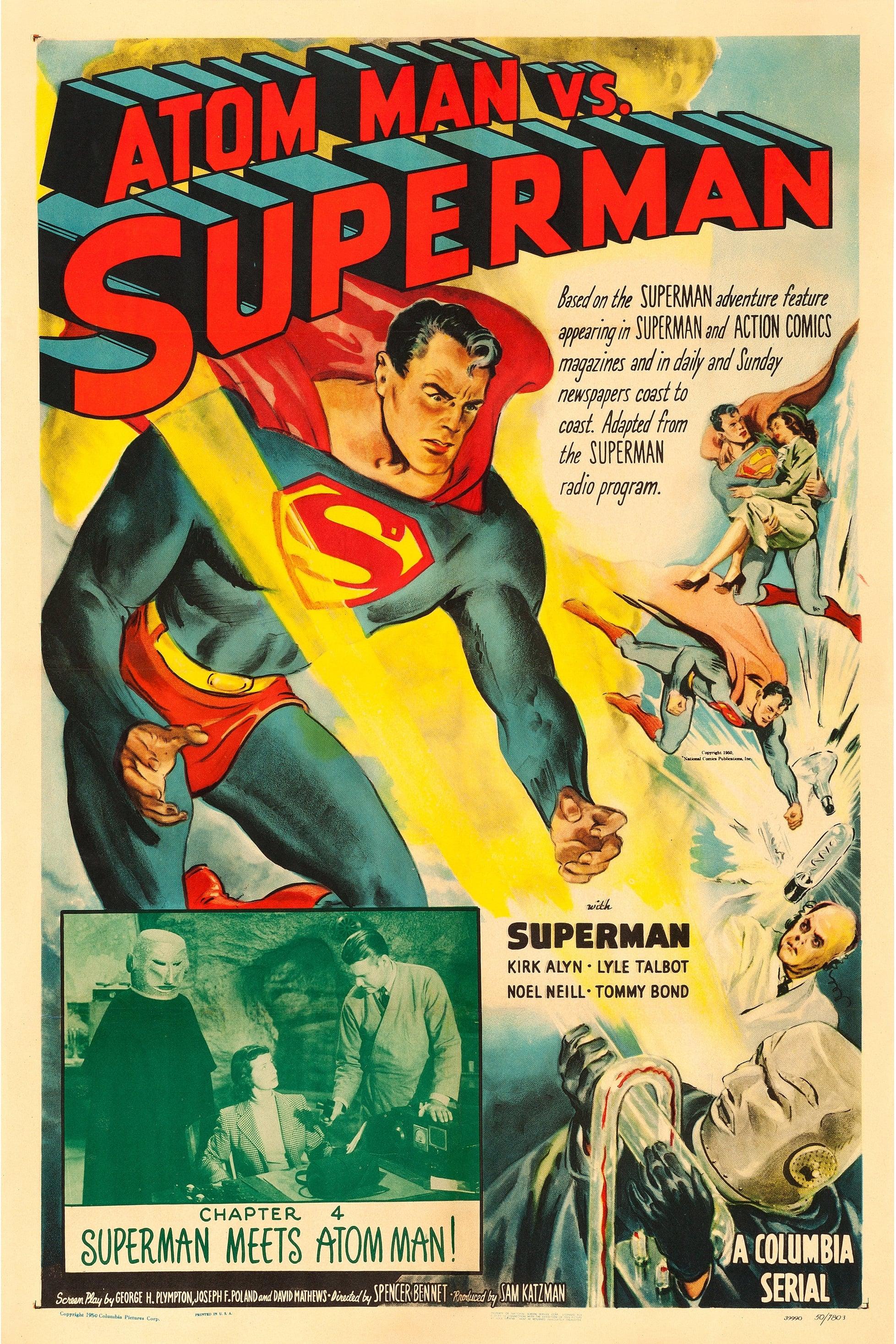 Atom Man vs Superman