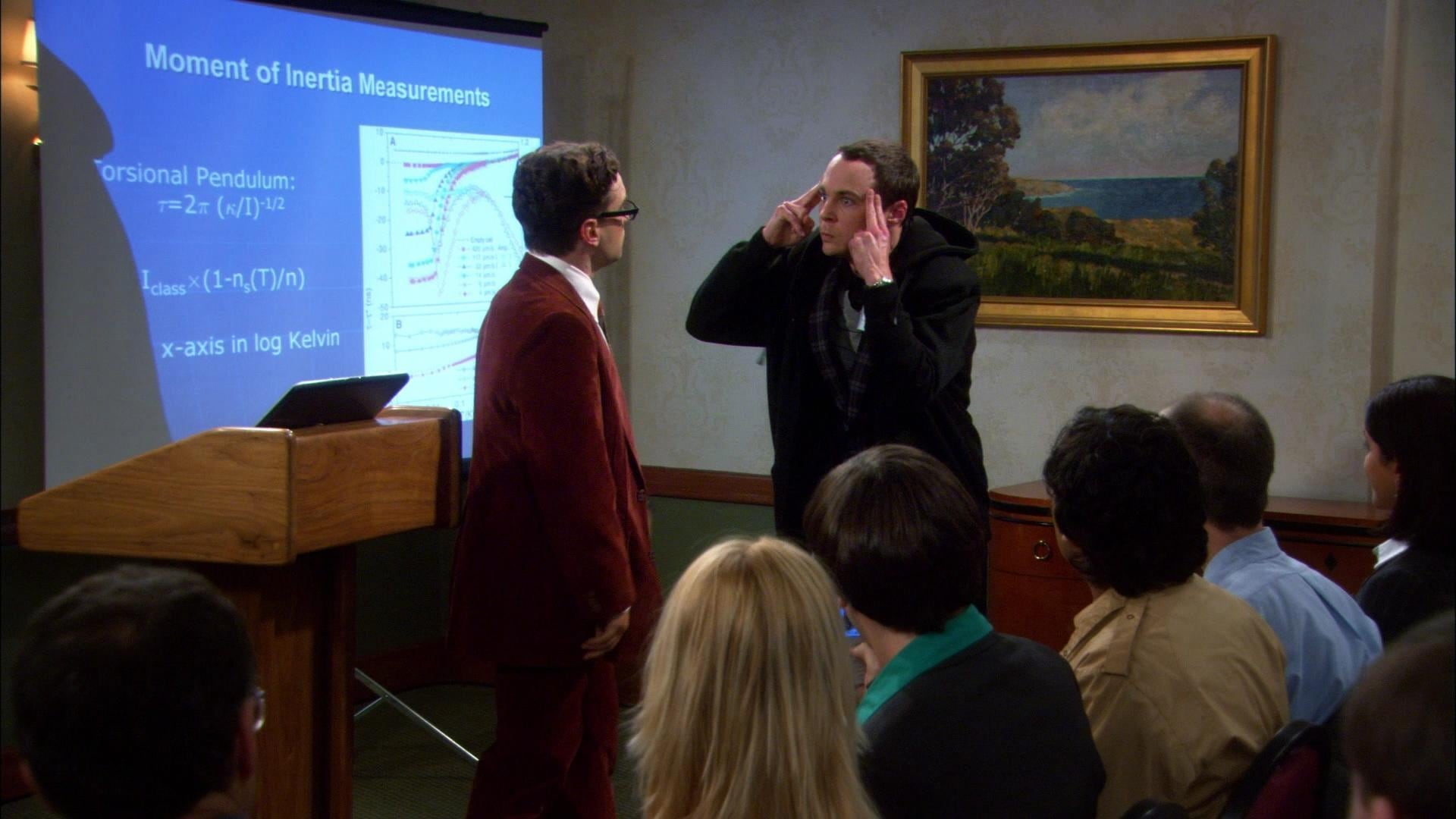 The Big Bang Theory Season 1 :Episode 9  The Cooper-Hofstadter Polarization