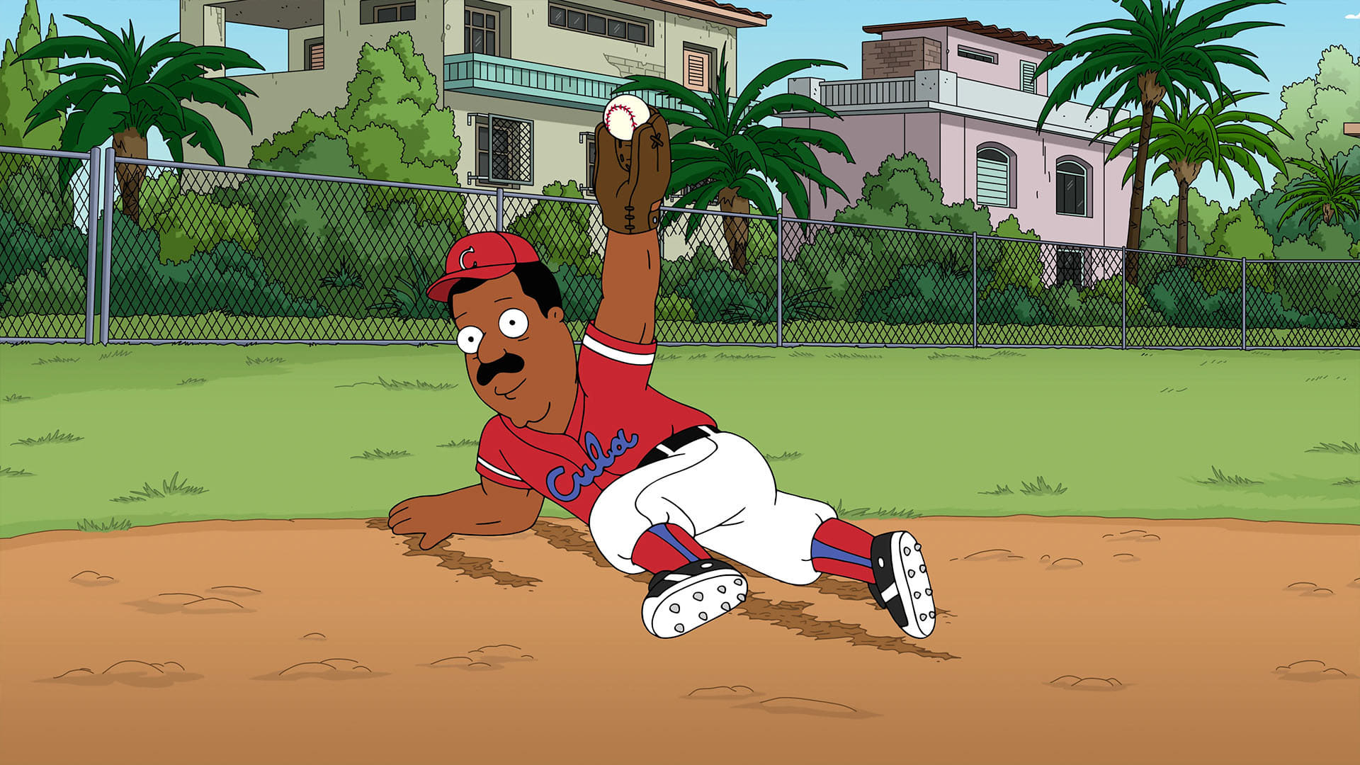 Family Guy Season 19 :Episode 20  Tales of Former Sports Glory