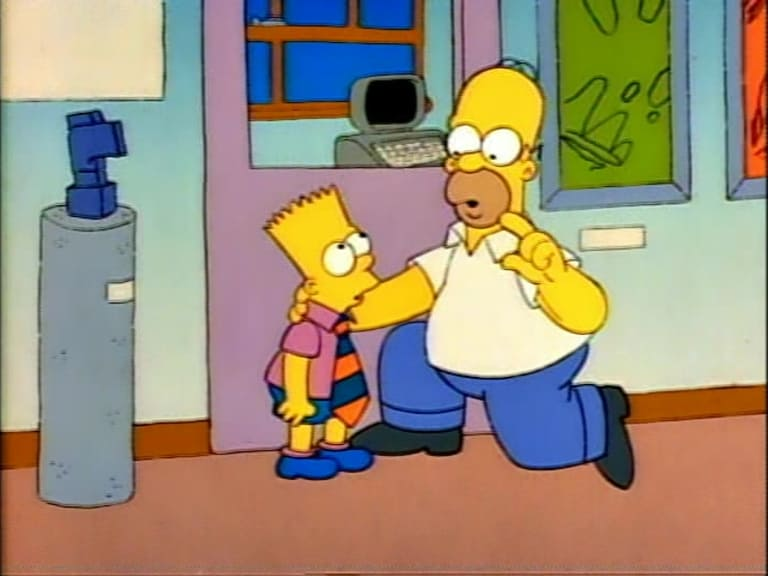 The Simpsons Season 1 :Episode 2  Bart the Genius