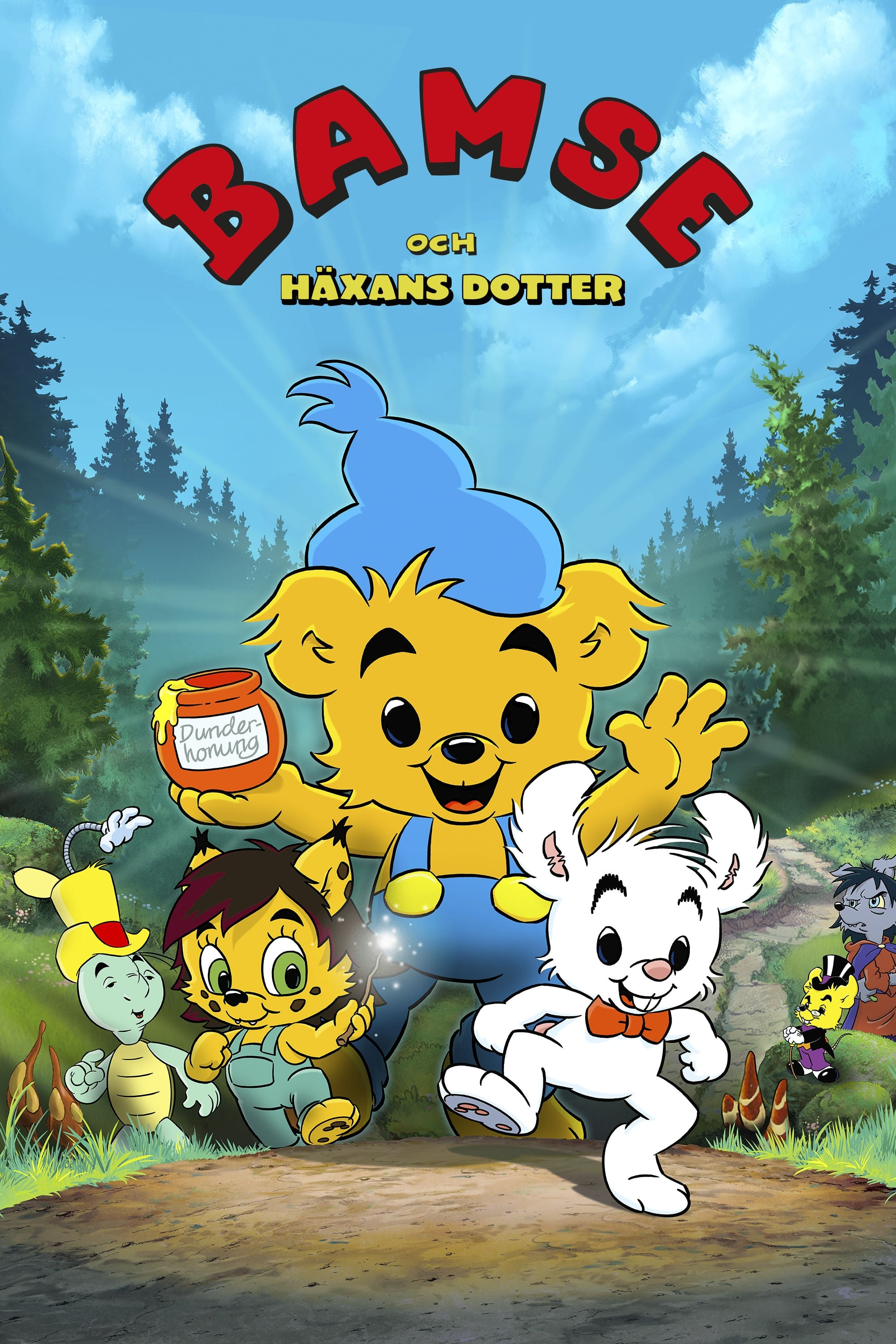Bamse and the Witch's Daughter (2016)