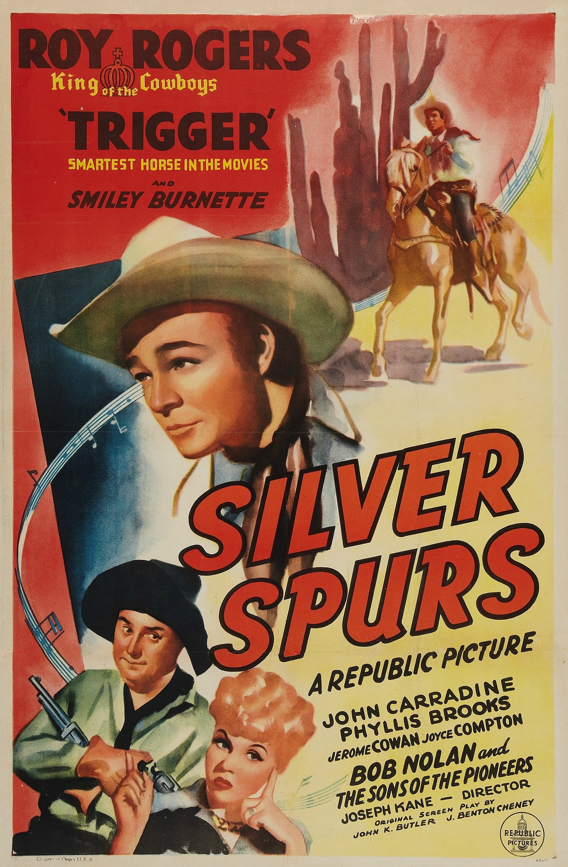 Silver Spurs on FREECABLE TV
