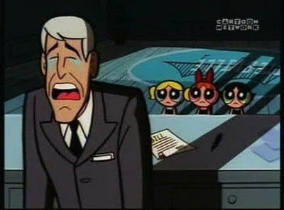 The Powerpuff Girls Season 3 :Episode 3  Town And Out