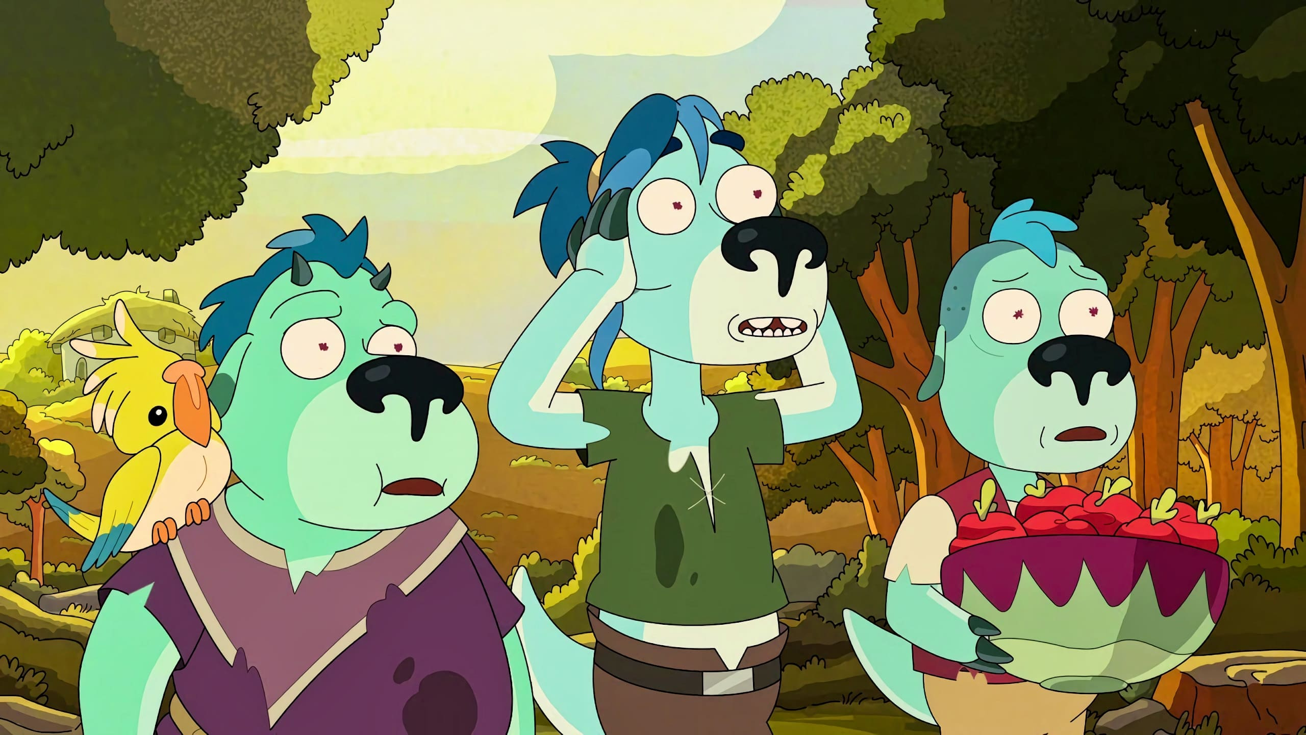 Rick and Morty Season 5 :Episode 1  Mort Dinner Rick Andre