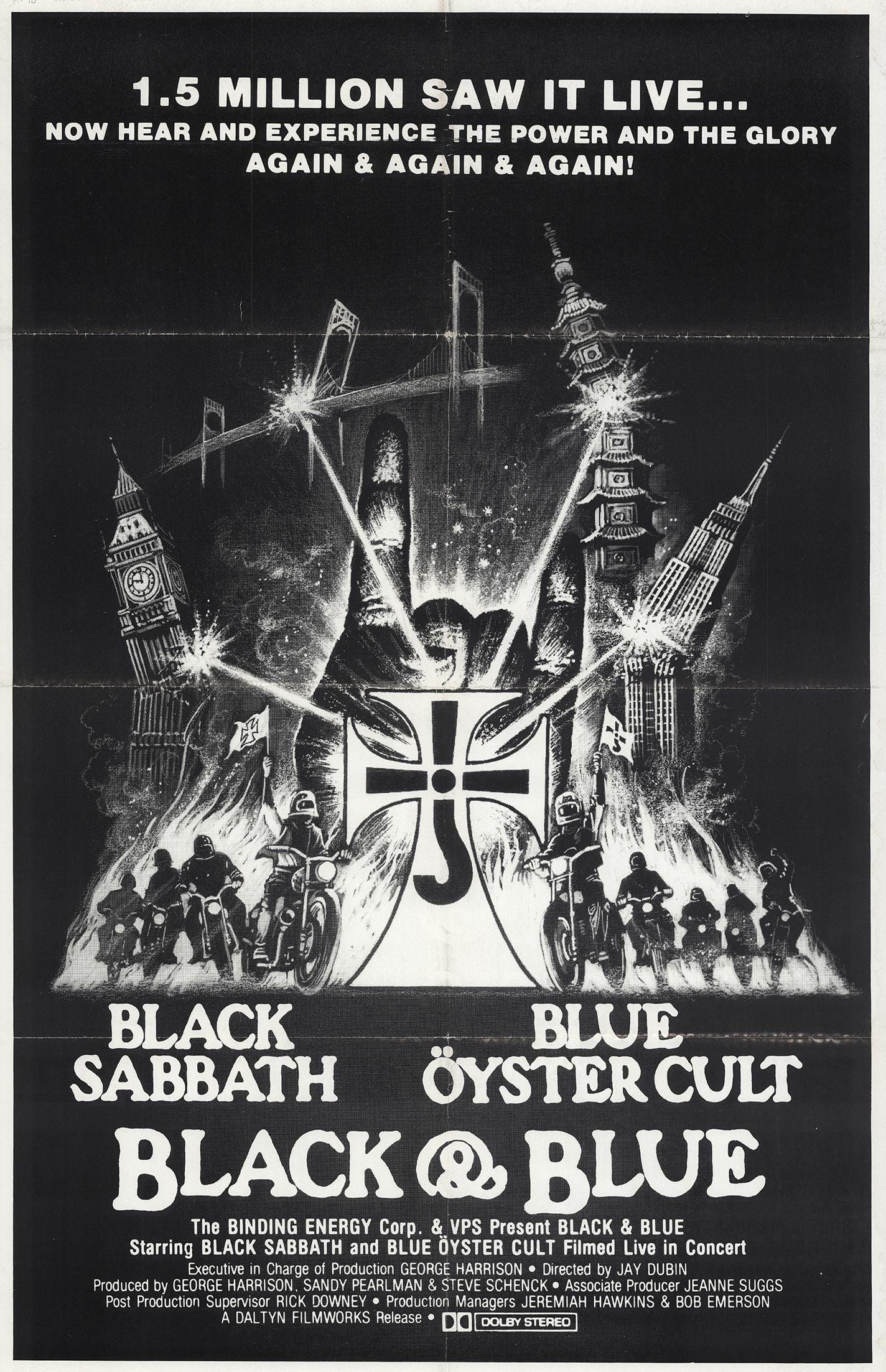 Black Sabbath & Blue Oyster Cult: Black and Blue (1981)