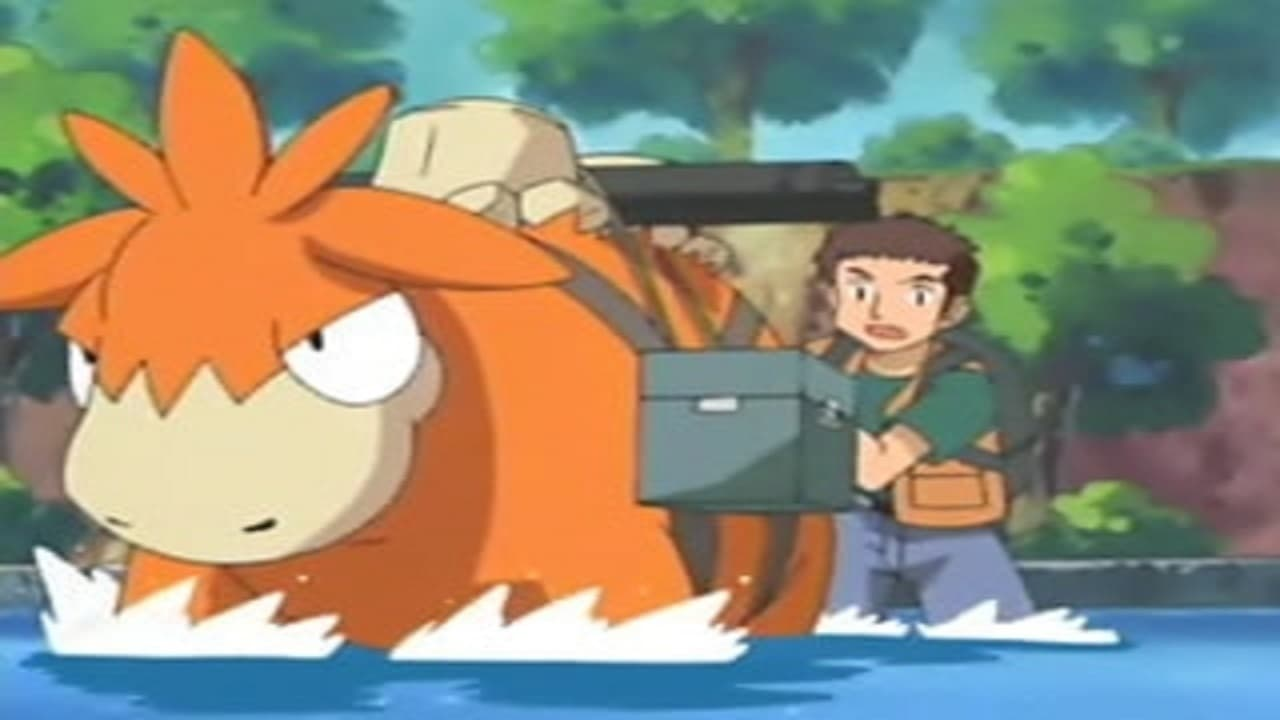 Pokémon Season 7 :Episode 46  Lights, Camerupt, Action!