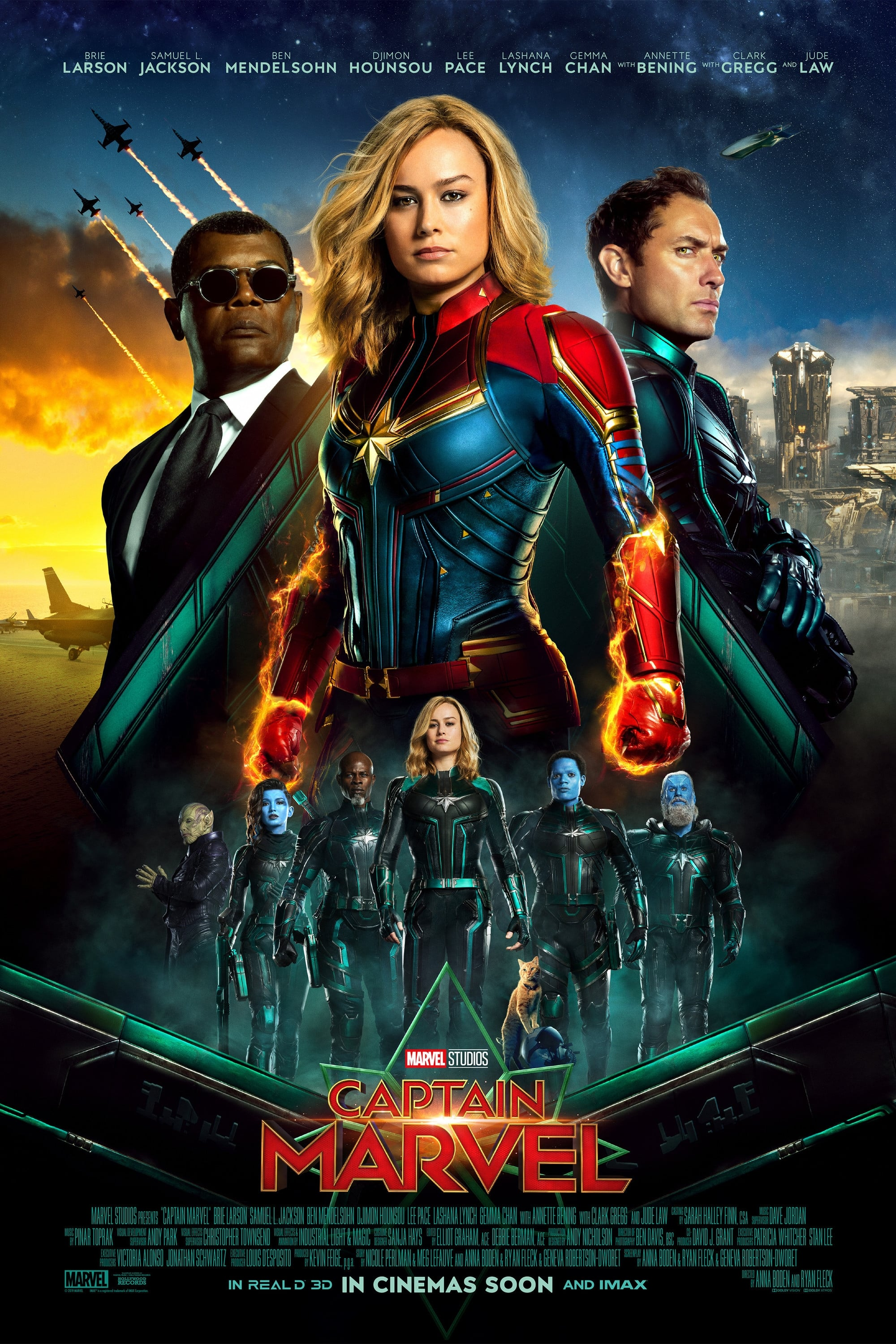 Capitana Marvel 2019 Full Hd 720 1080 Latino Descargar