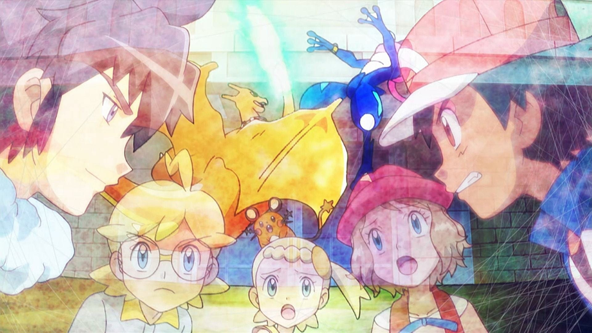 Pokémon Season 19 :Episode 23  Der Synchron-Test!