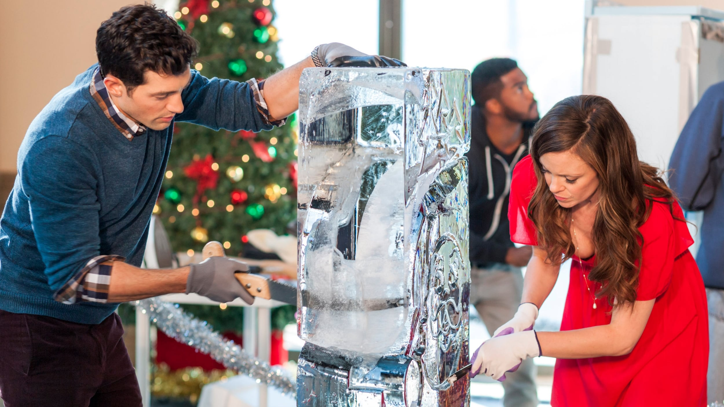 Ice Sculpture Christmas.Ice Sculpture Christmas 2015 Backdrops The Movie