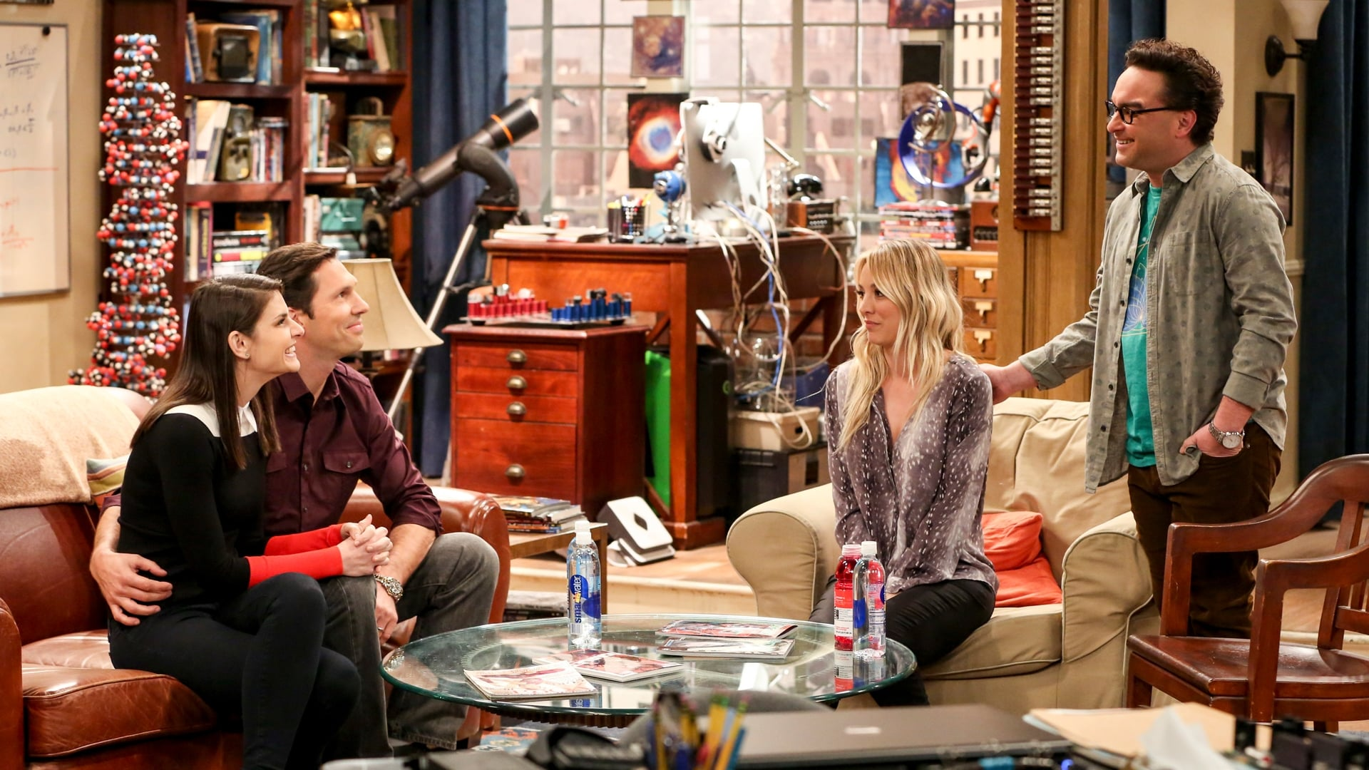 The Big Bang Theory Season 12 :Episode 15  The Donation Oscillation