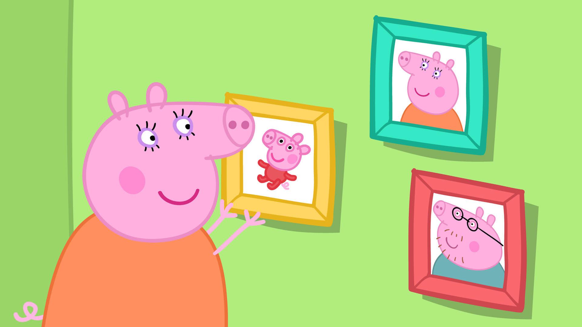 Peppa Pig Season 4 :Episode 51  The Olden Days