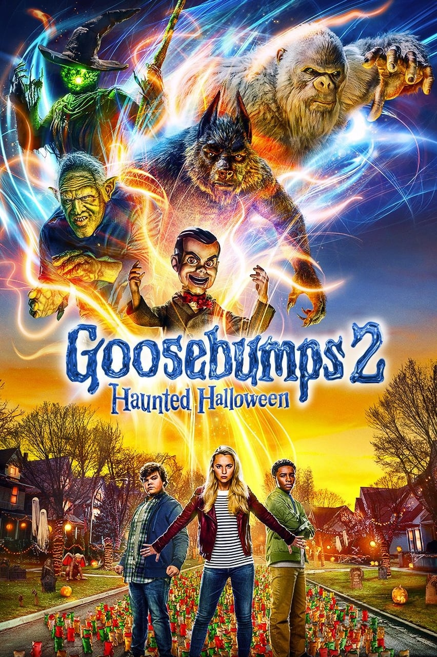 Poster and image movie Film Goosebumps 2: Halloween bantuit - Goosebumps: Haunted Halloween - Goosebumps: Haunted Halloween 2018