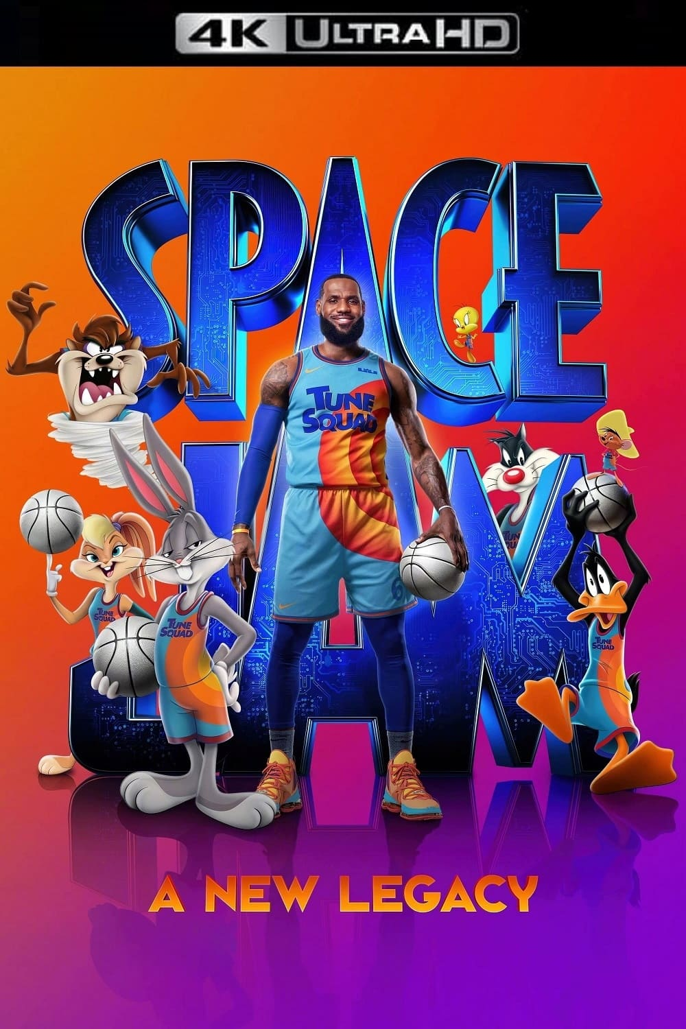 Poster and image movie Space Jam: A New Legacy